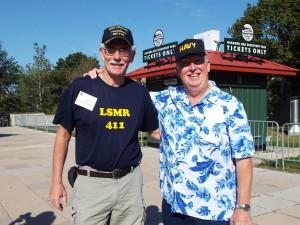 Jeff Veesenmeyer and Ron MacKay at Niagara Falls.