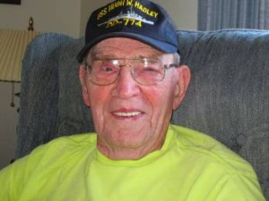 Ted Davis, 89, at his home in Erie, PA.